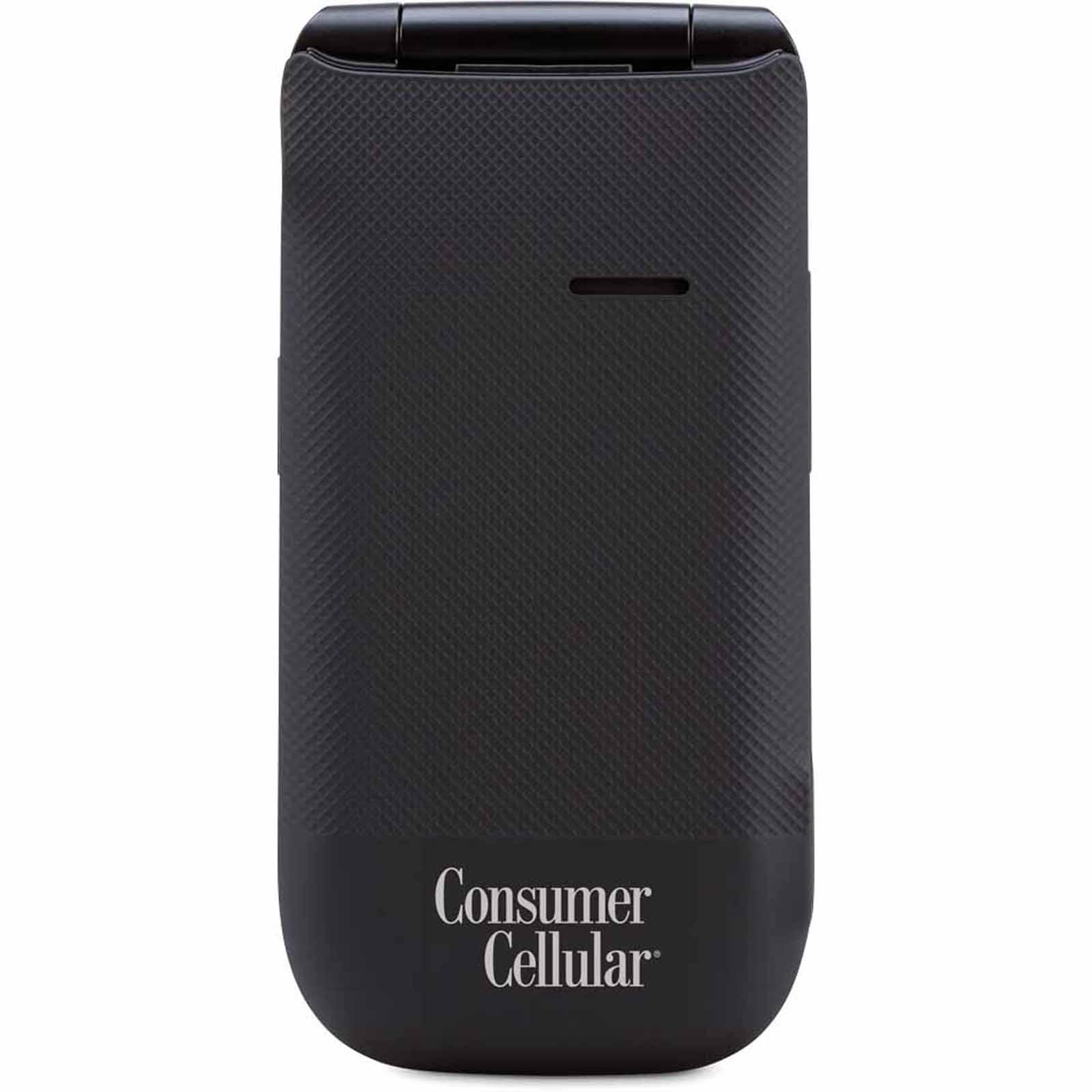 Consumer Cellular 101 Cell Phone - Black