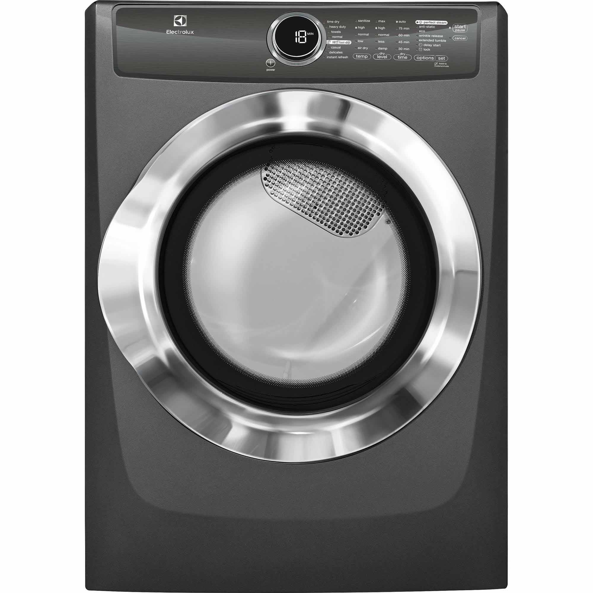 Electrolux EFME517STT 8.0 cu. ft. Electric Dryer w/ Instant Refresh - Titanium