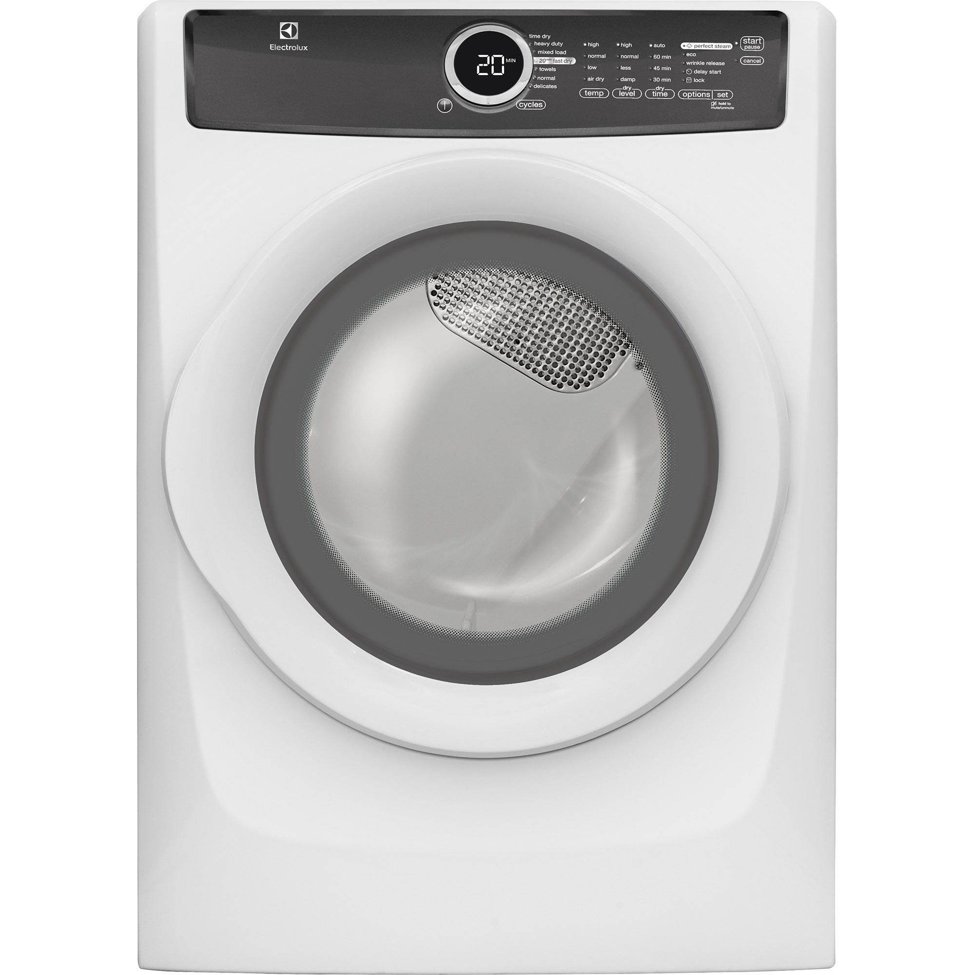 Electrolux EFMG417SIW 8.0 cu. ft. Perfect Steam™ Gas Dryer - White