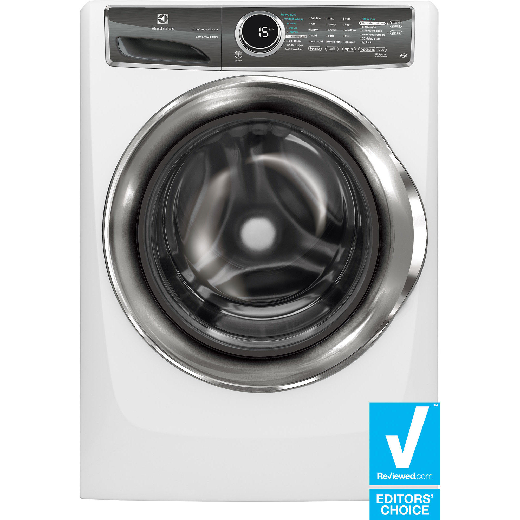 Electrolux EFLS617SIW 4.4 cu. ft. Front-Load Perfect Steam™ Washer w/ SmartBoost™ Technology - White