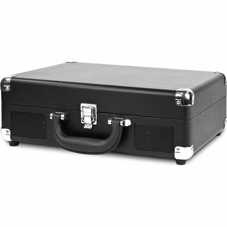 Innovative Technologies Vintage-Style 3-Speed Bluetooth Turntable - Black
