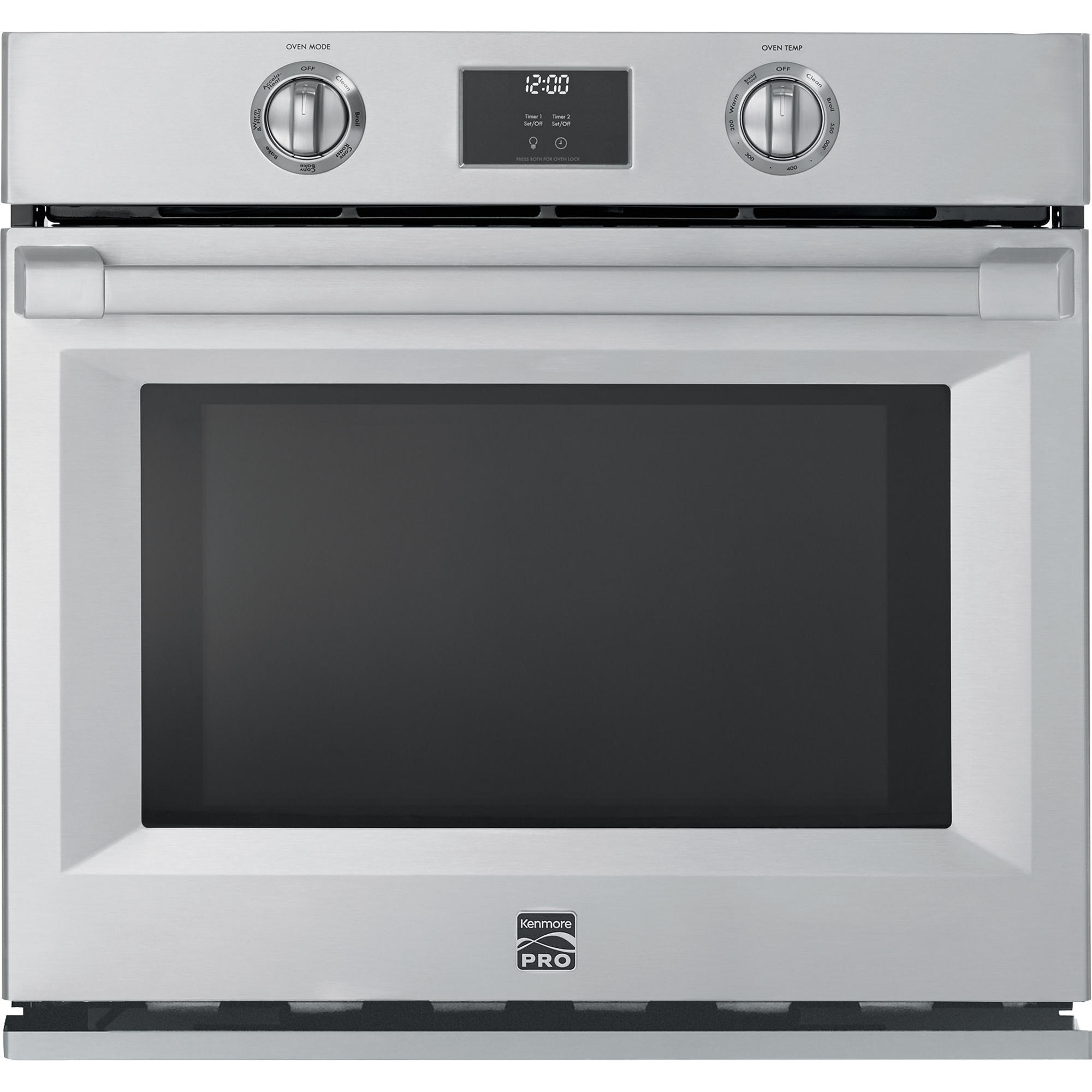 Kenmore Pro 41153 30 Electric Self-Clean Single Wall Oven - Stainless Steel