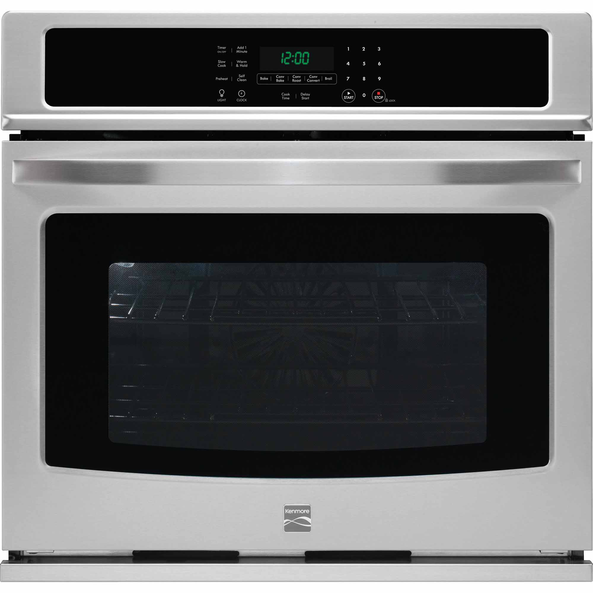 Kenmore 49513 30 Electric Self-Clean Single Wall Oven /w Convection - Stainless Steel