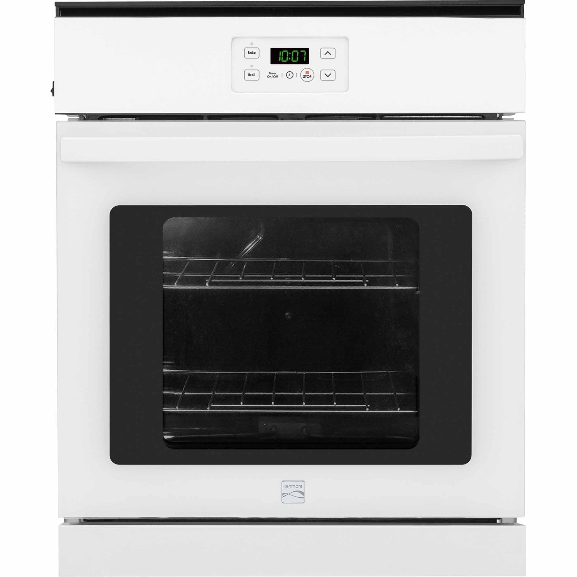 Kenmore 40272 24 Manual Clean Electric Wall Oven - White