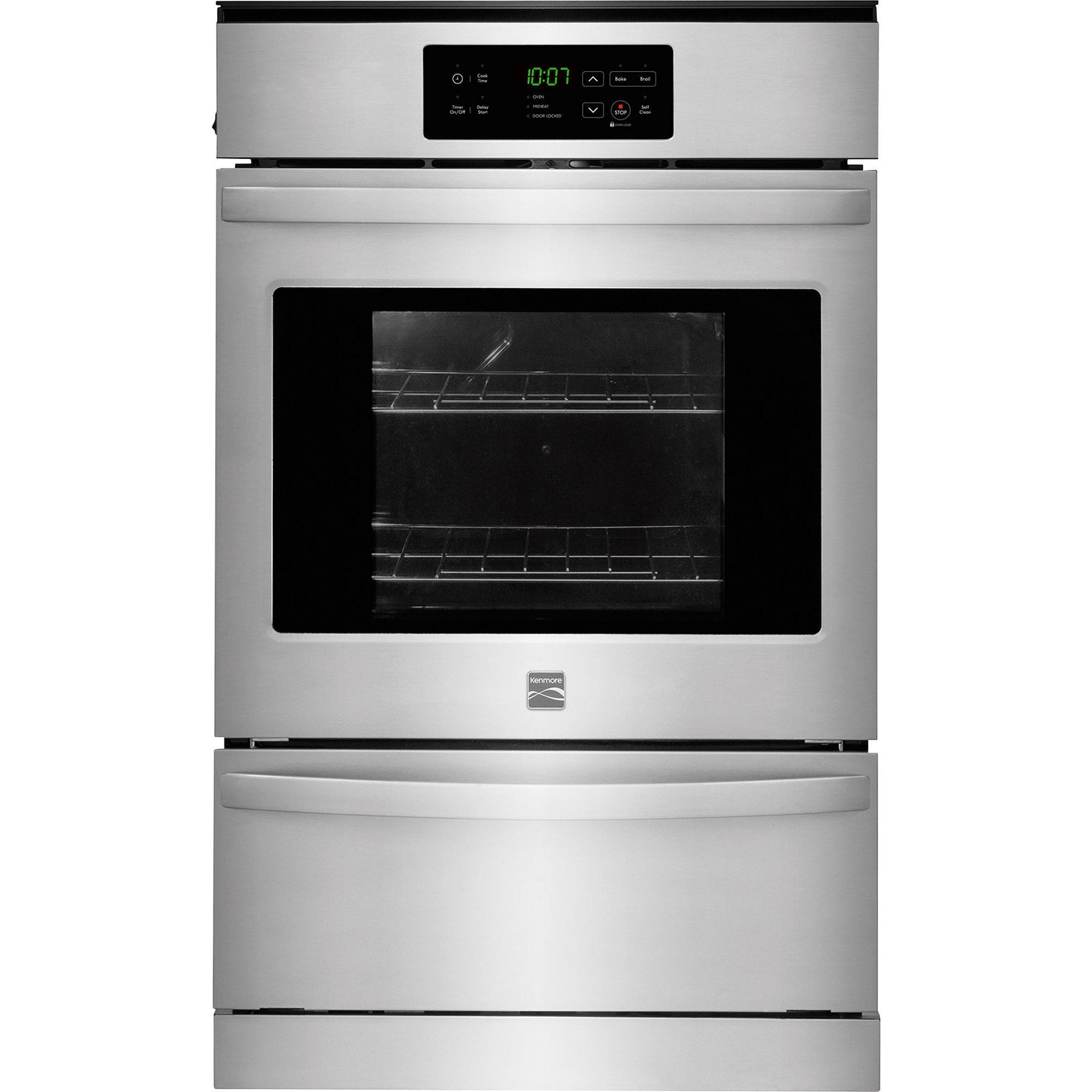 Kenmore 40303 24 Gas Wall Oven - Stainless Steel