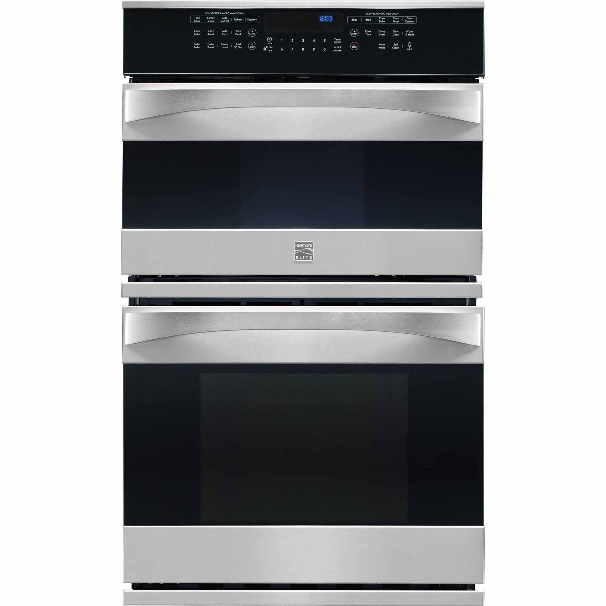 Kenmore Elite 48913 27 Electric Combination Oven - Stainless Steel