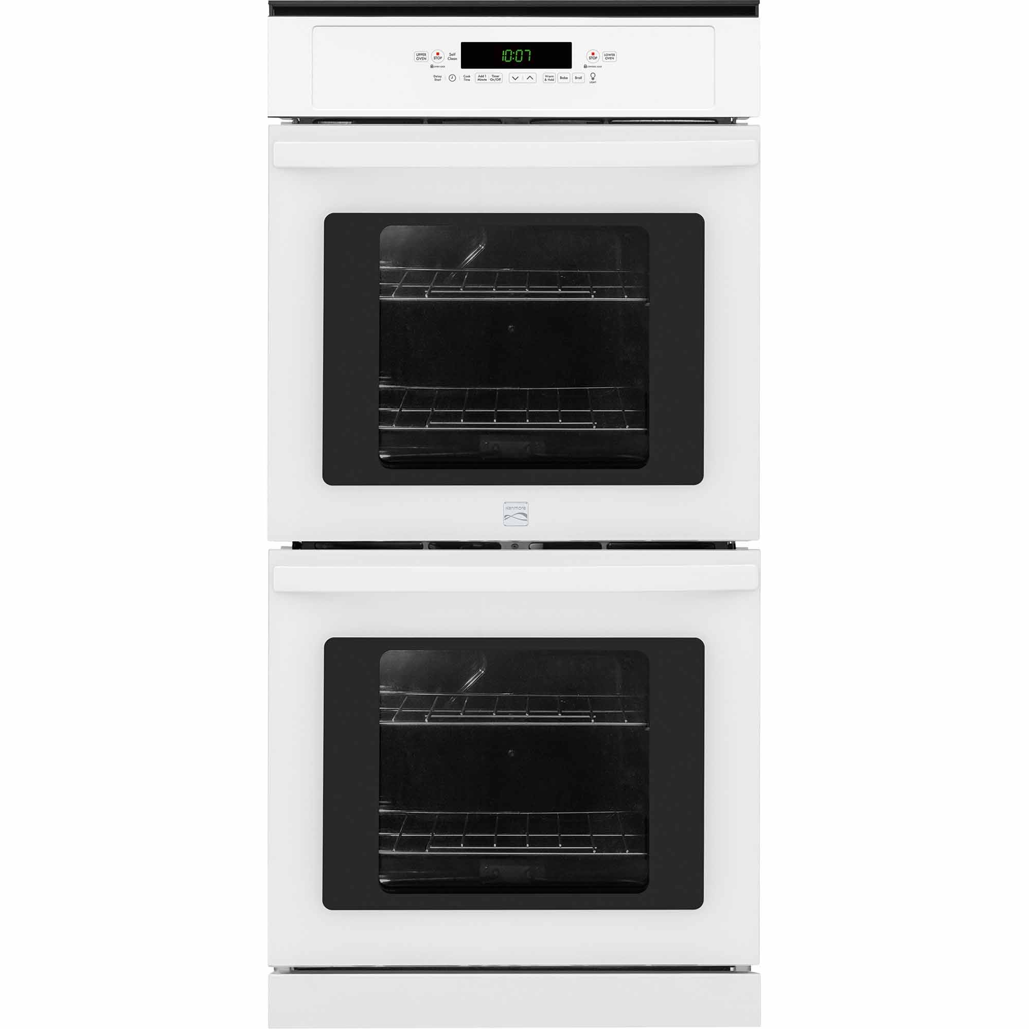 Kenmore 40252 24 Manual Clean Electric Double Wall Oven - White