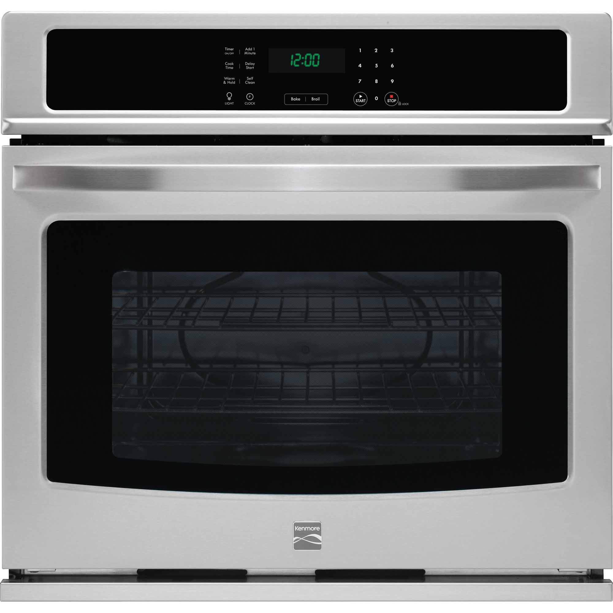 Kenmore 49423 30 Electric Self-Clean Single Wall Oven - Stainless Steel