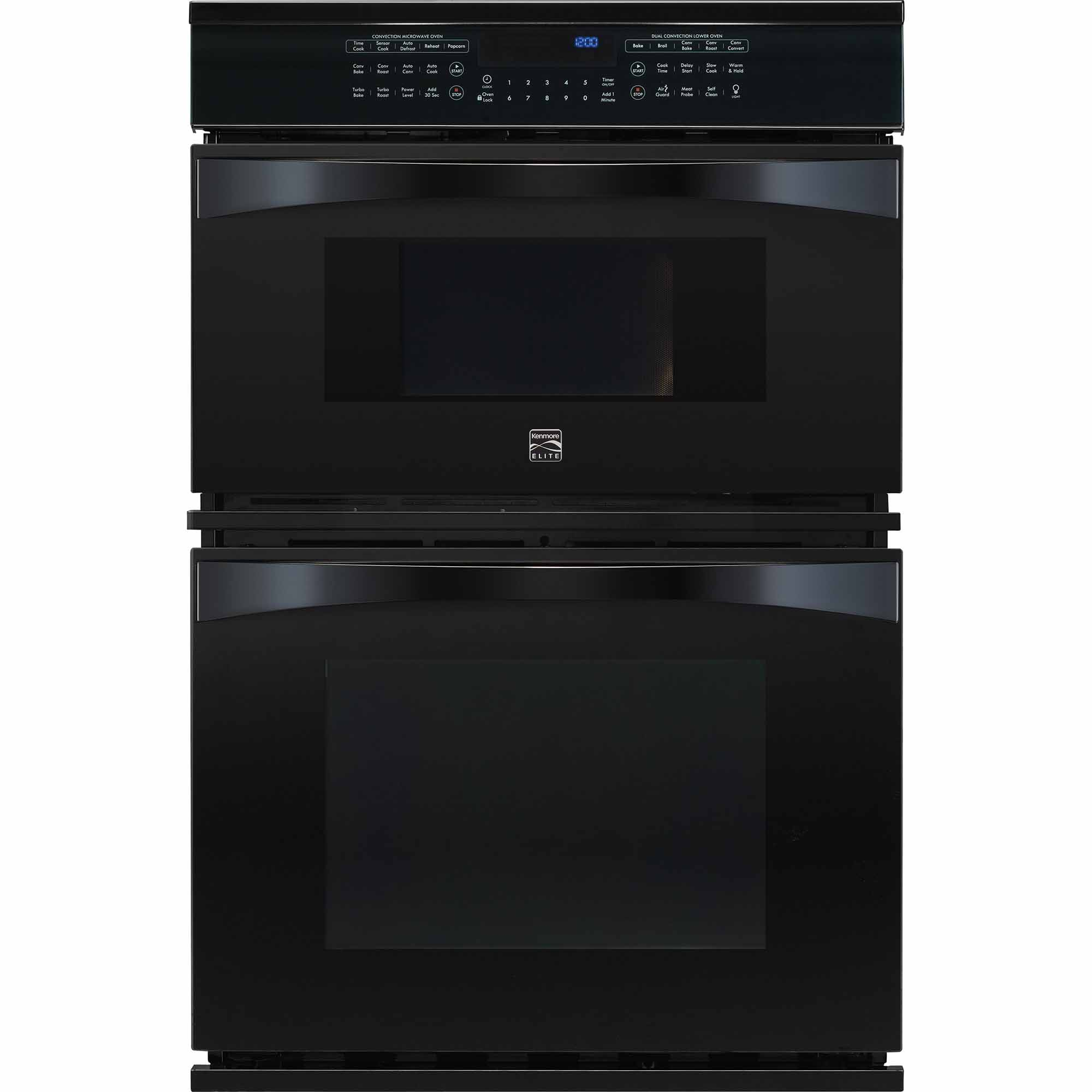 Kenmore Elite 49119 30 Electric Combination Oven - Black