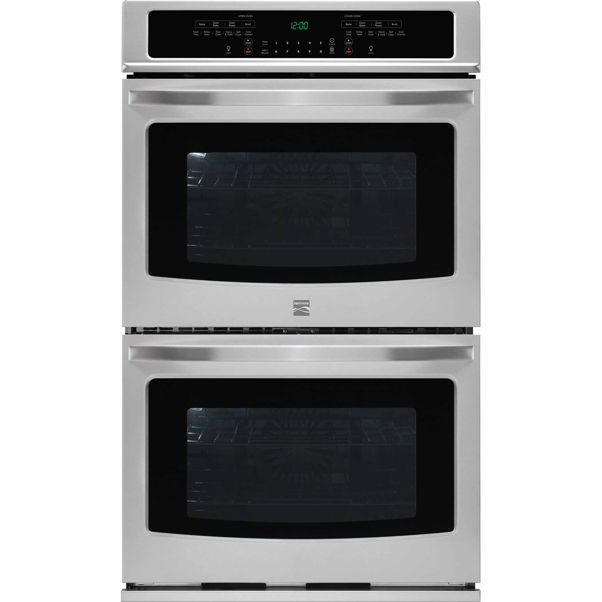 Kenmore 49533 30 Self-Clean Double Electric Wall Oven w/ Convection - Stainless Steel