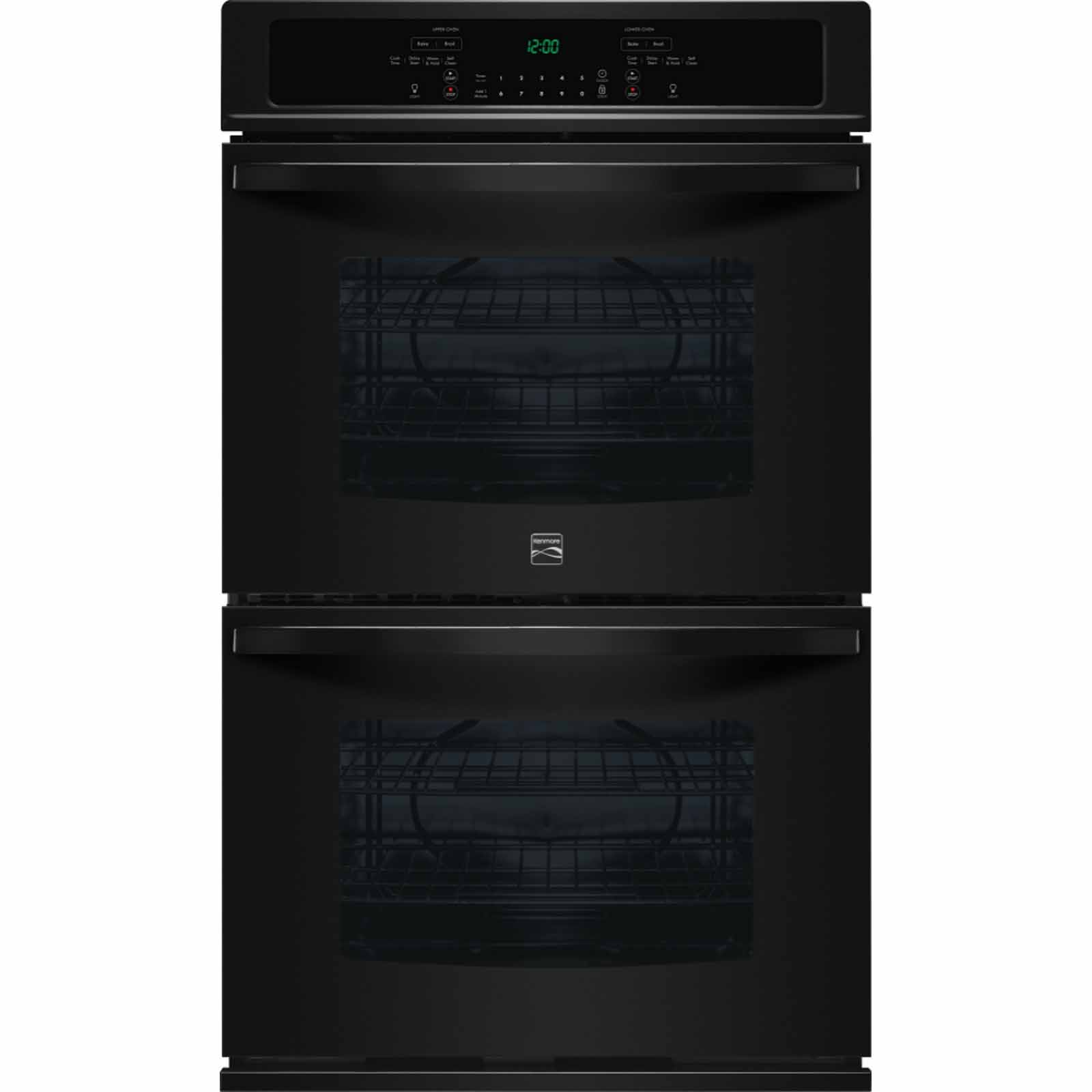Kenmore 49449 30 Double Electric Wall Oven w/Select Clean® - Black