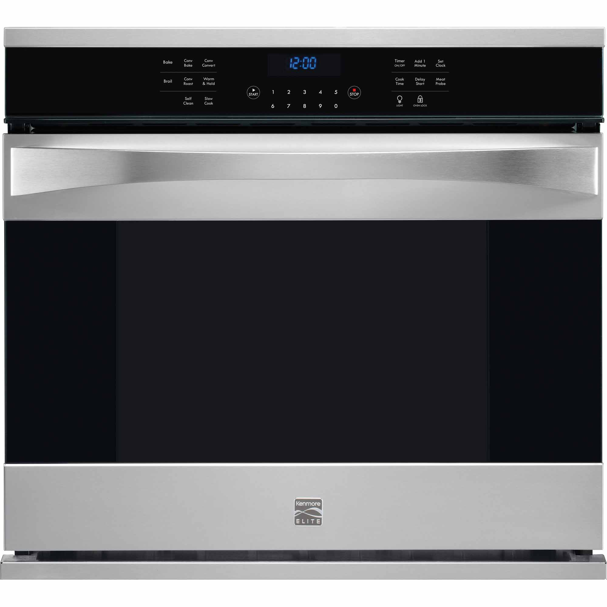Kenmore Elite 48353 30 Electric Single Wall Oven - Stainless Steel