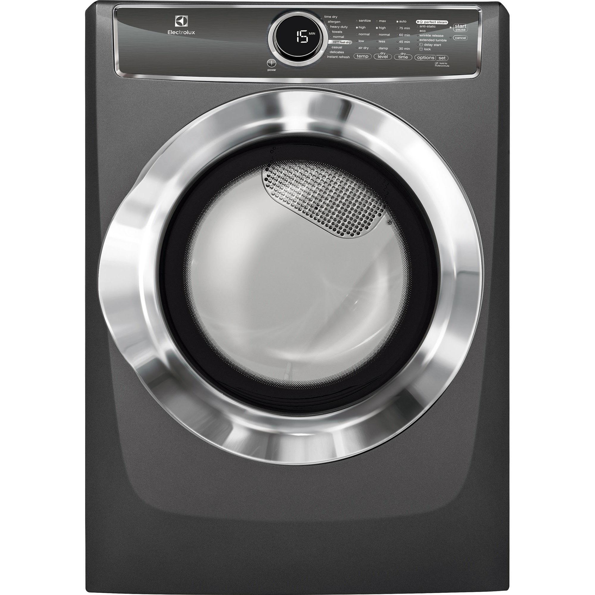 EFME617STT-8-0-cu-ft-Electric-Dryer-w-Allergen-Cycle-Titanium