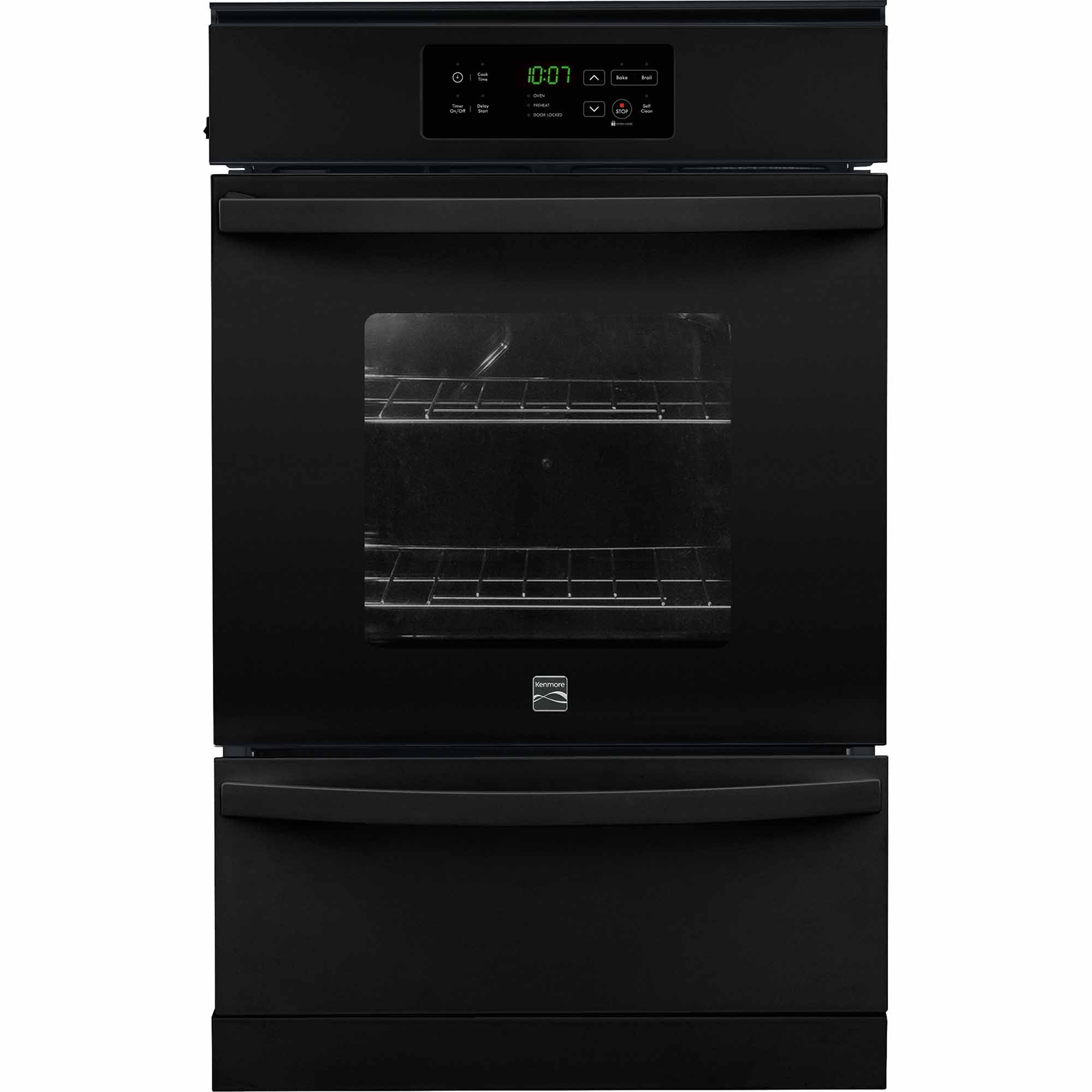 Kenmore 40309 24 Gas Wall Oven - Black