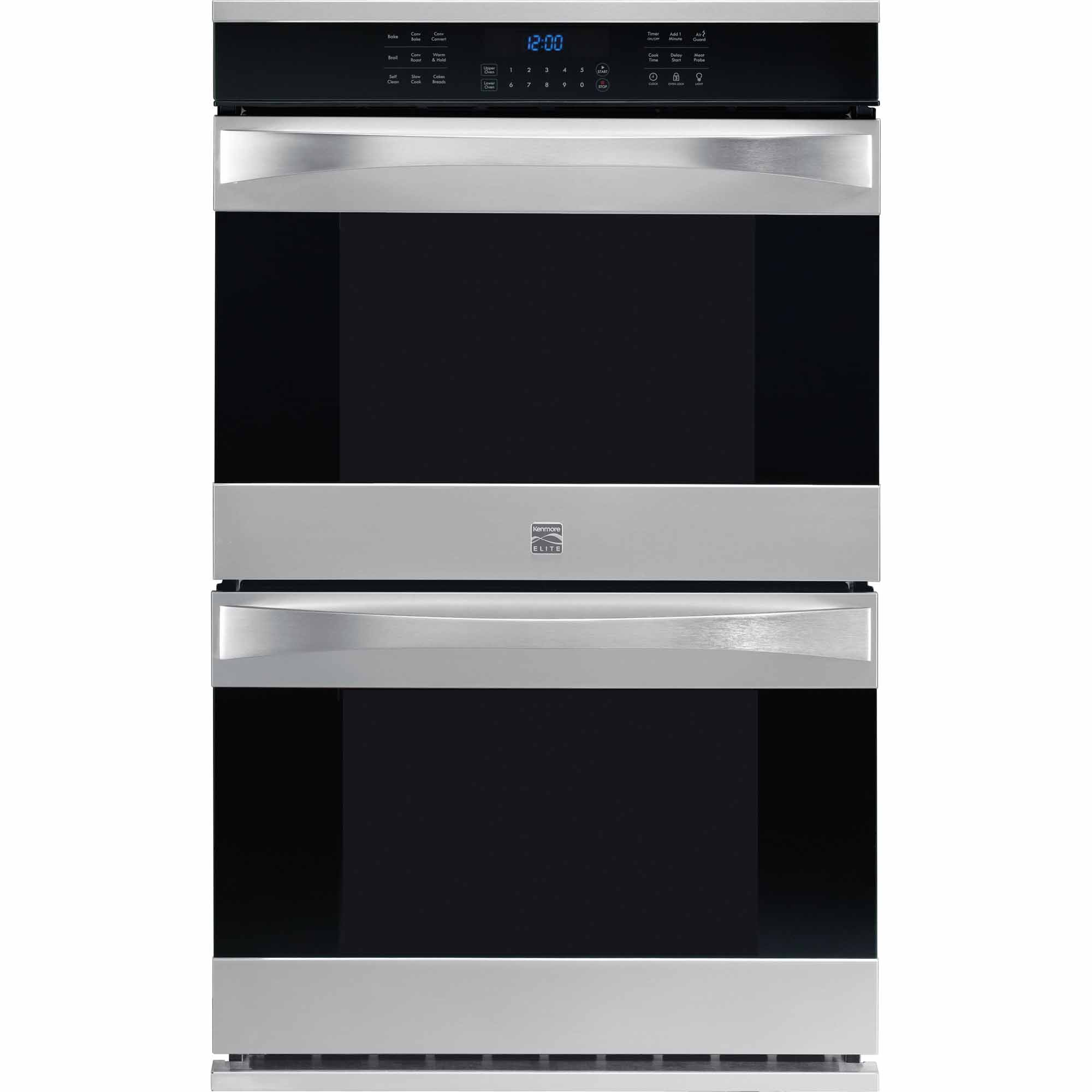 Kenmore Elite 48473 30 Electric Double Wall Oven w/ True Convection™  - Stainless Steel