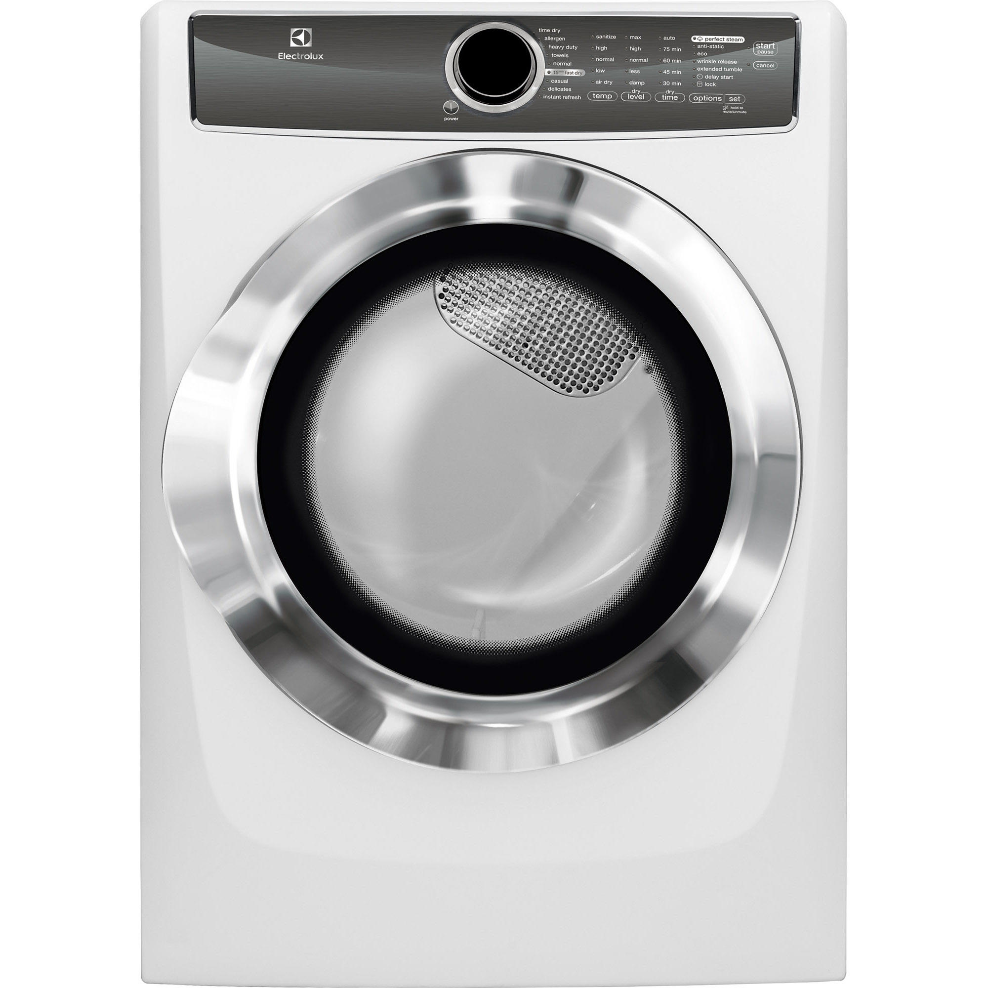 Electrolux EFMG617SIW 8.0 cu. ft. Gas Dryer w/ Allergen Cycle - White