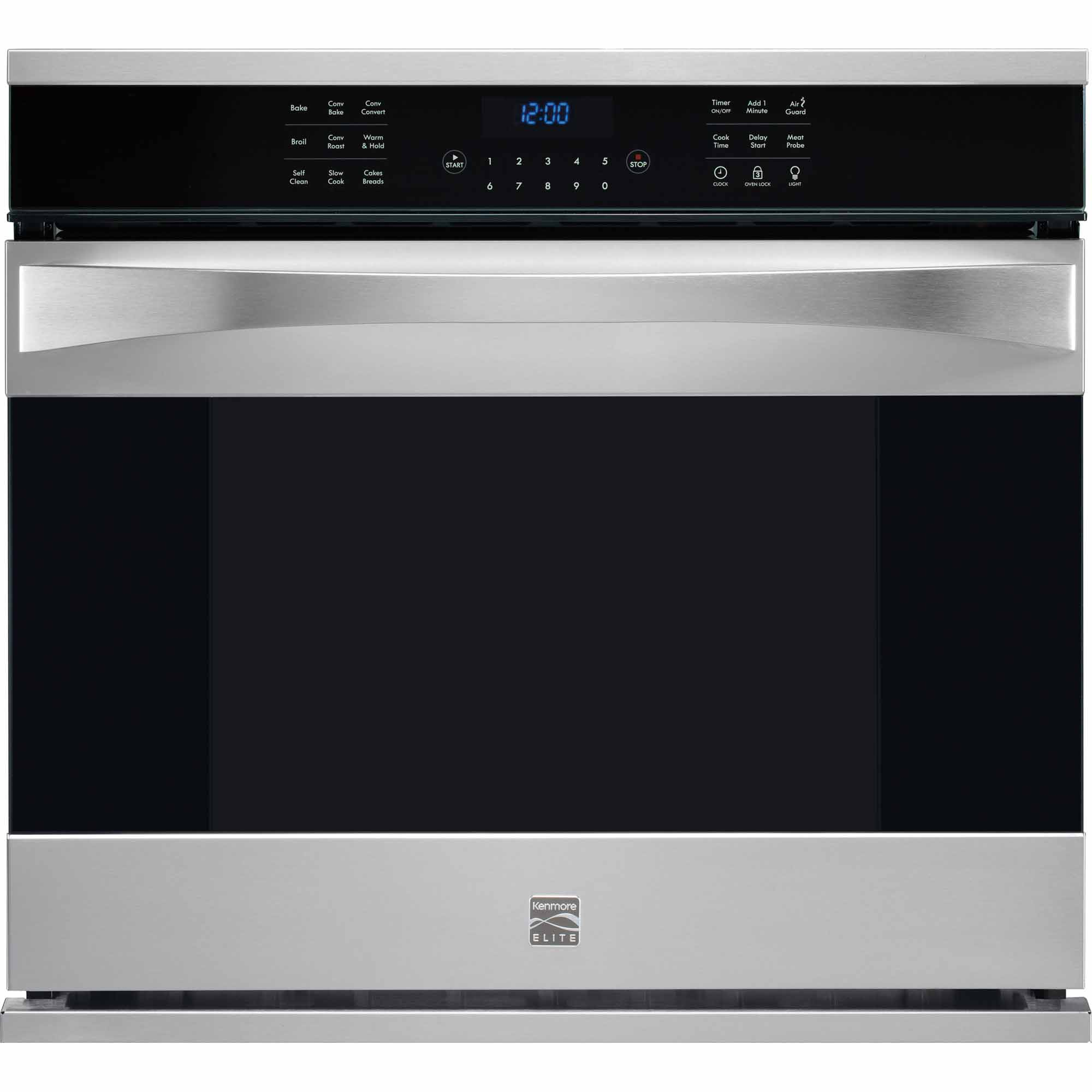 Kenmore Elite 48363 30 Electric Single Wall Oven - Stainless Steel