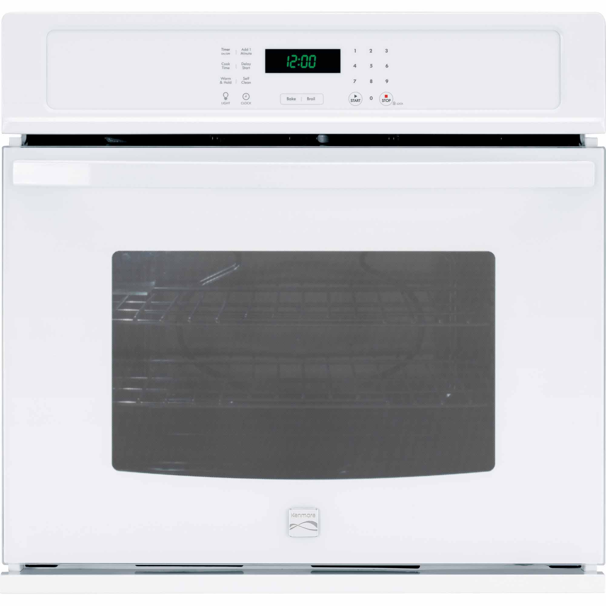 Kenmore 49422 30 Electric Self-Clean Single Wall Oven - White