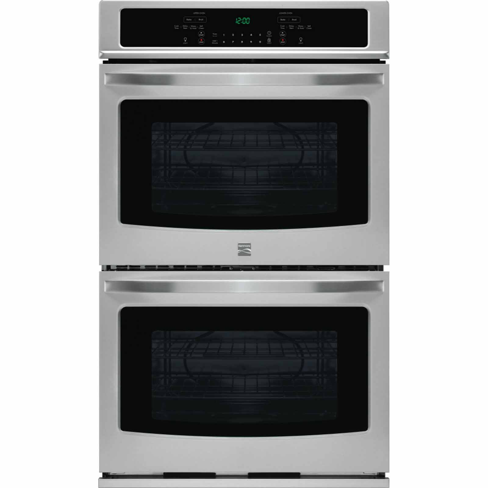 Kenmore 49443 30 Double Electric Wall Oven w/Select Clean® - Stainless Steel