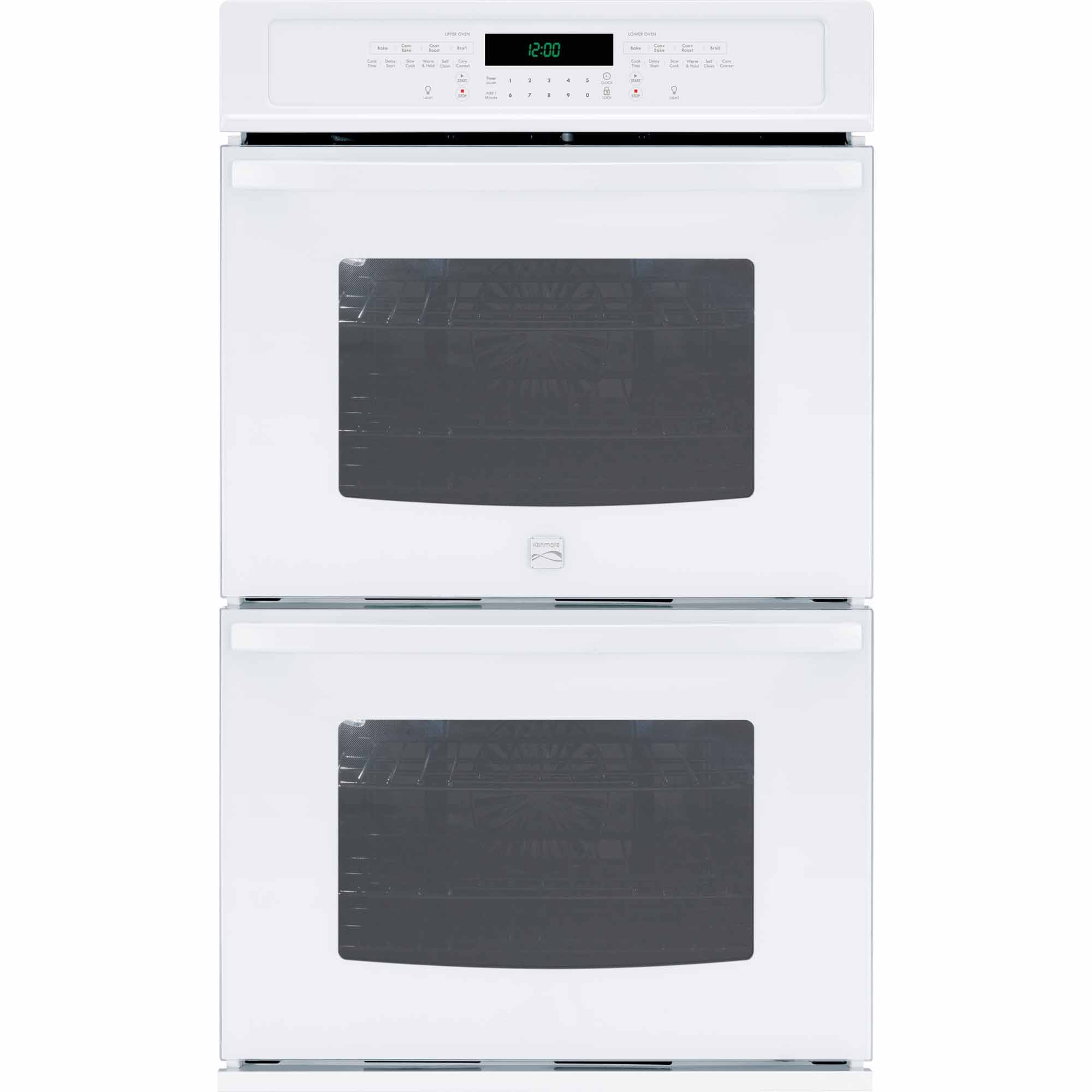 Kenmore 49522 27 Self-Clean Double Electric Wall Oven - White