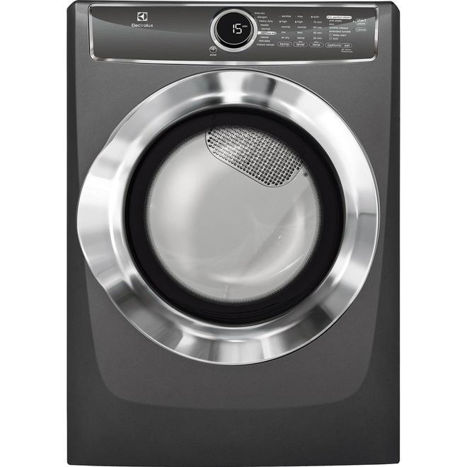 Electrolux EFMG617STT 8.0 cu. ft.  Gas Dryer w/ Allergen Cycle - Titanium