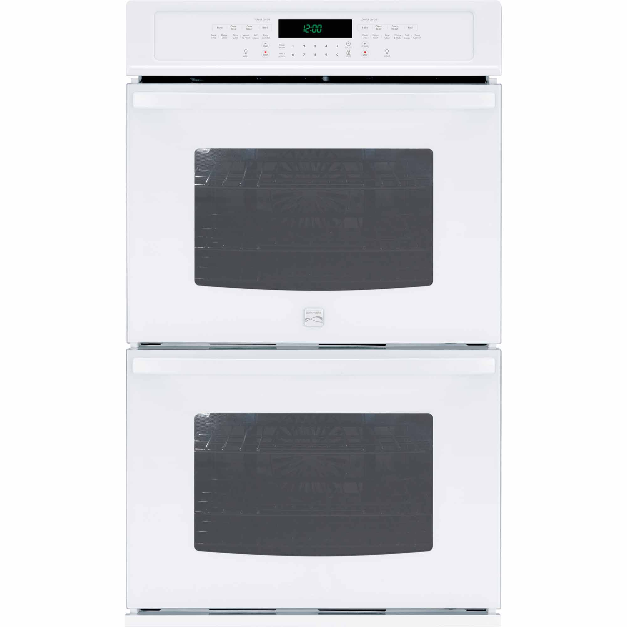 Kenmore 49532 30 Self-Clean Double Electric Wall Oven w/ Convection - White