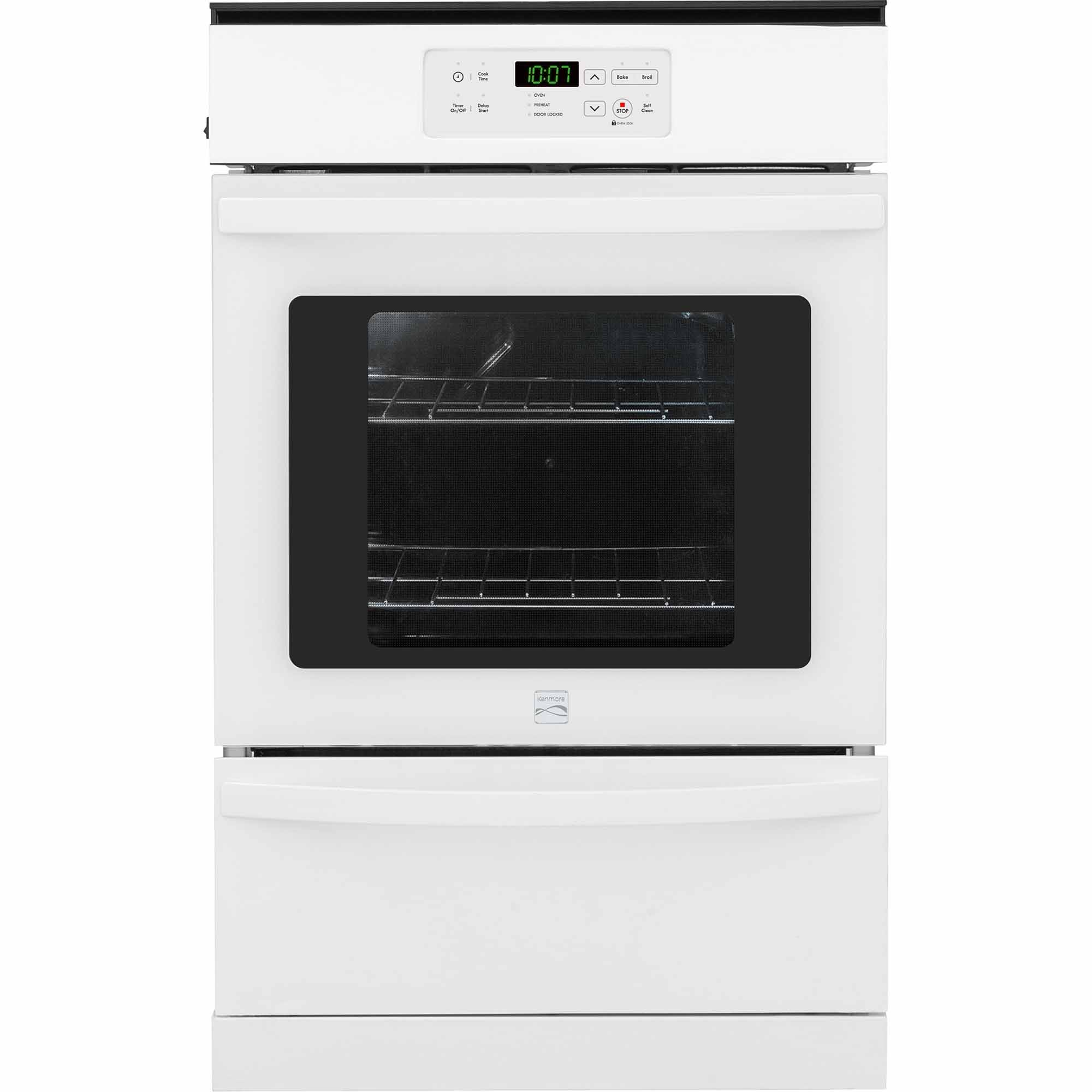 Kenmore 40302 24 Gas Wall Oven - White