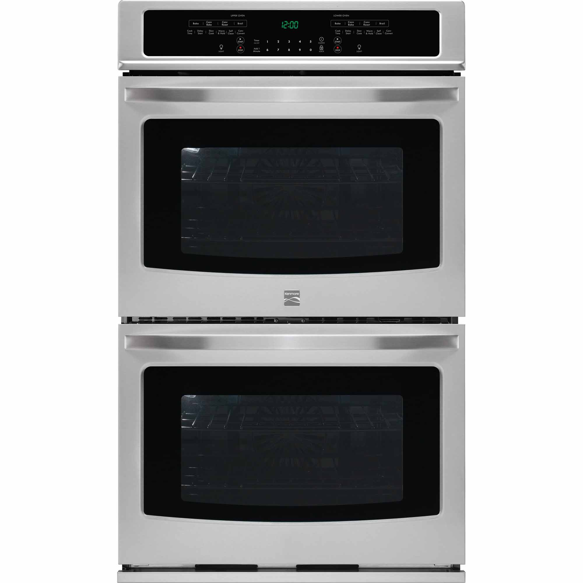 Kenmore 49523 27 Self-Clean Double Electric Wall Oven w/Convection - Stainless Steel