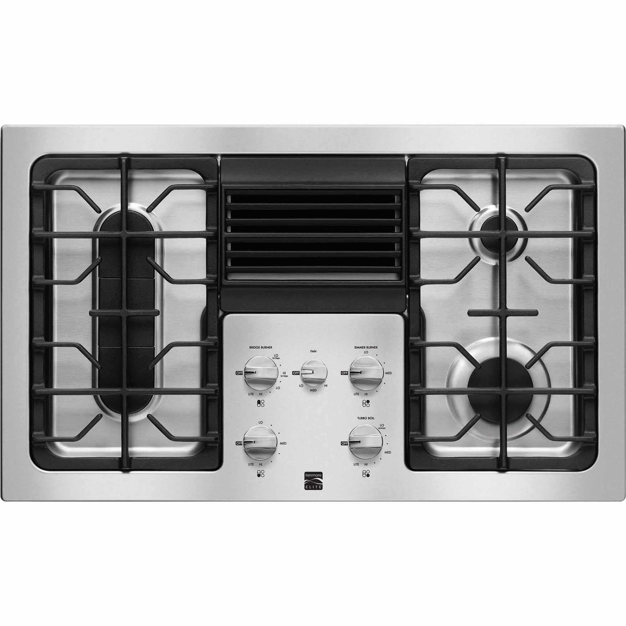 31123-36-Downdraft-Gas-Cooktop-Stainless-Steel
