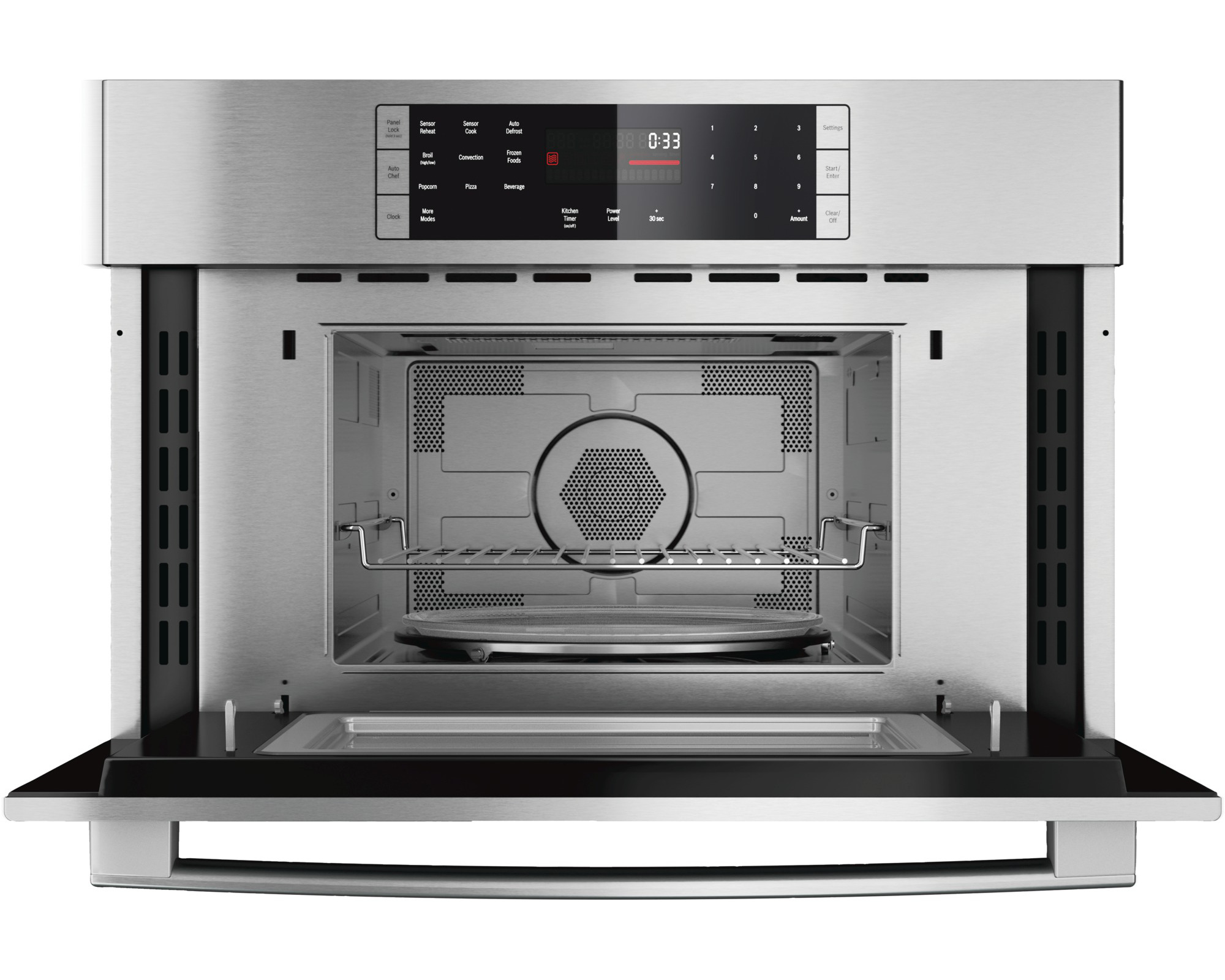 Bosch HMC80151UC 1.6 cu. ft. 800 Series Speed Microwave Oven - Stainless Steel