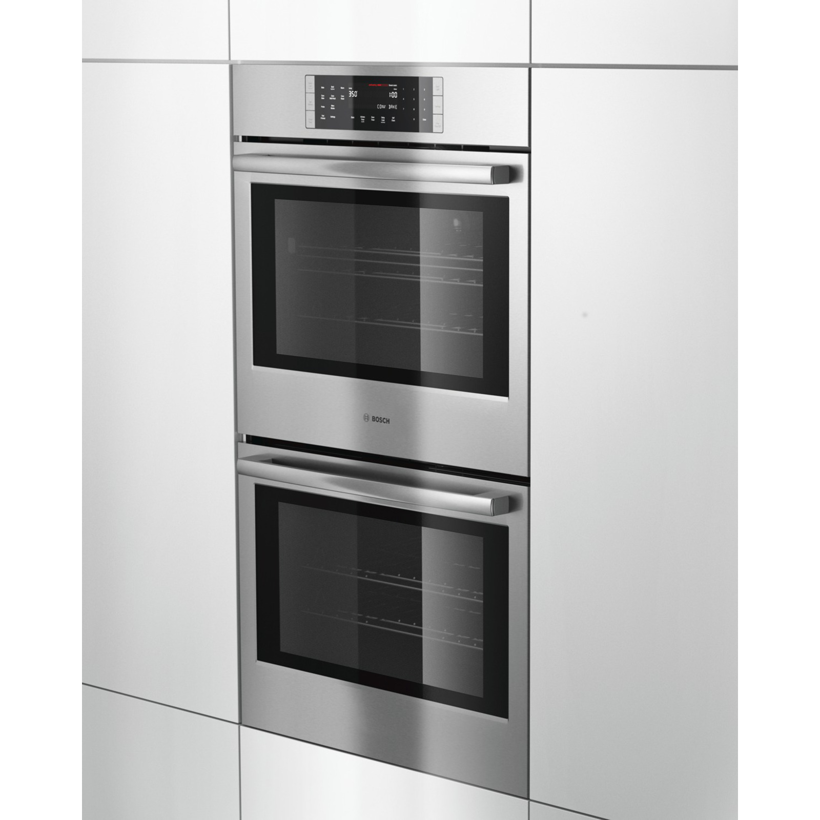 "Bosch HBL8651UC 800 Series 30""  Double Wall Oven - Stainless Steel"