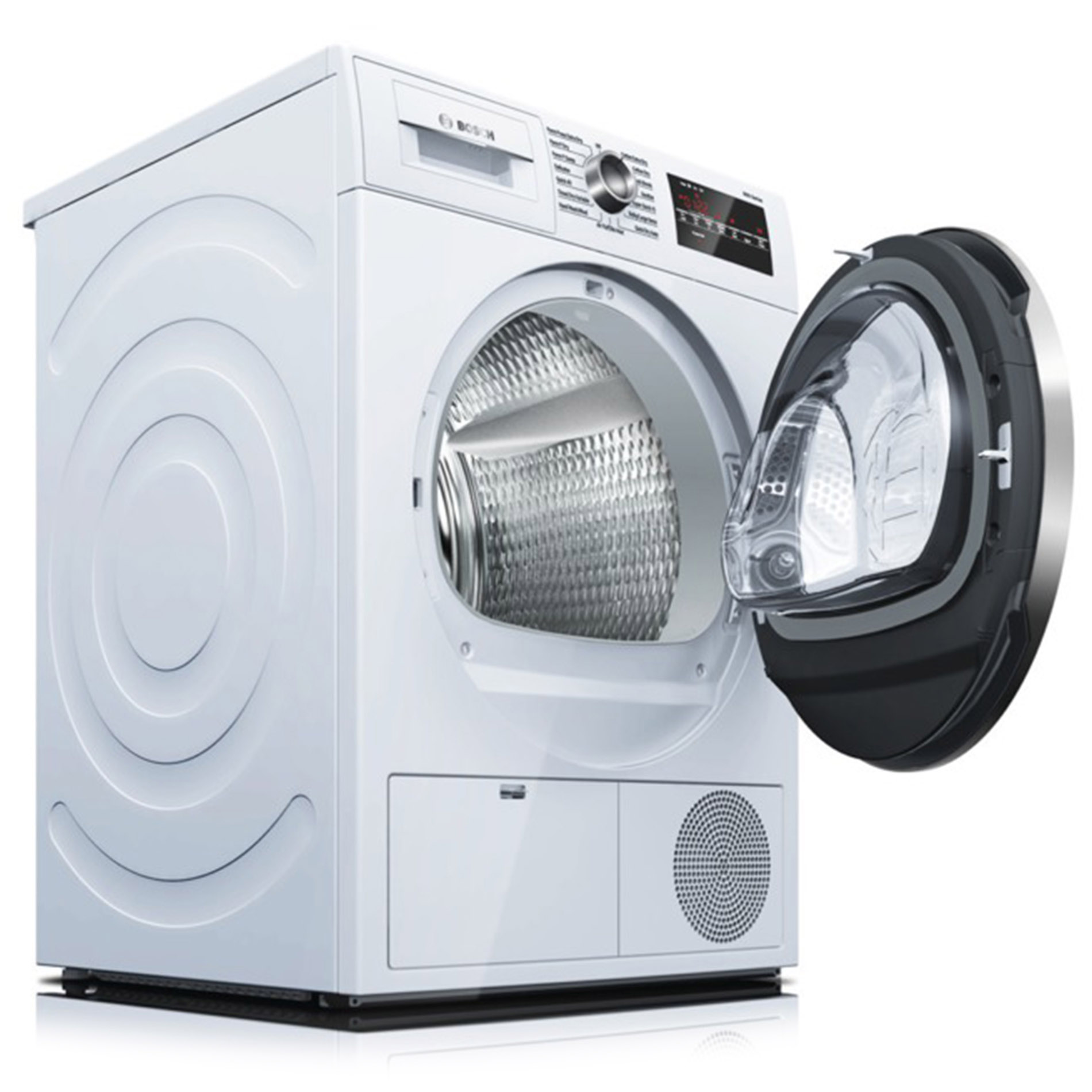 Bosch WTG86402UC 800 Series 4.0 cu. ft. Compact Condensation Dryer - White/Chrome