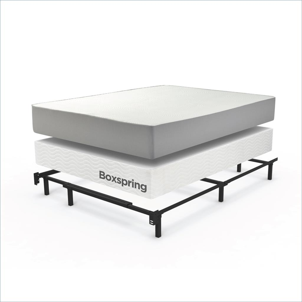 Sleep Revolution Brown Compack Queen Bed Frame