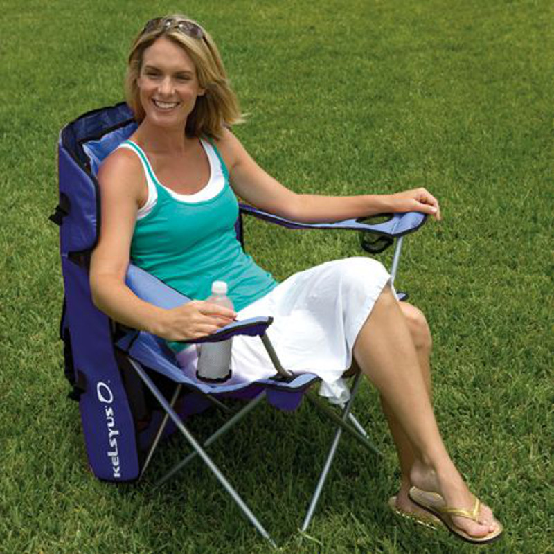 Kelsyus Convertible Canopy Chair - Blue