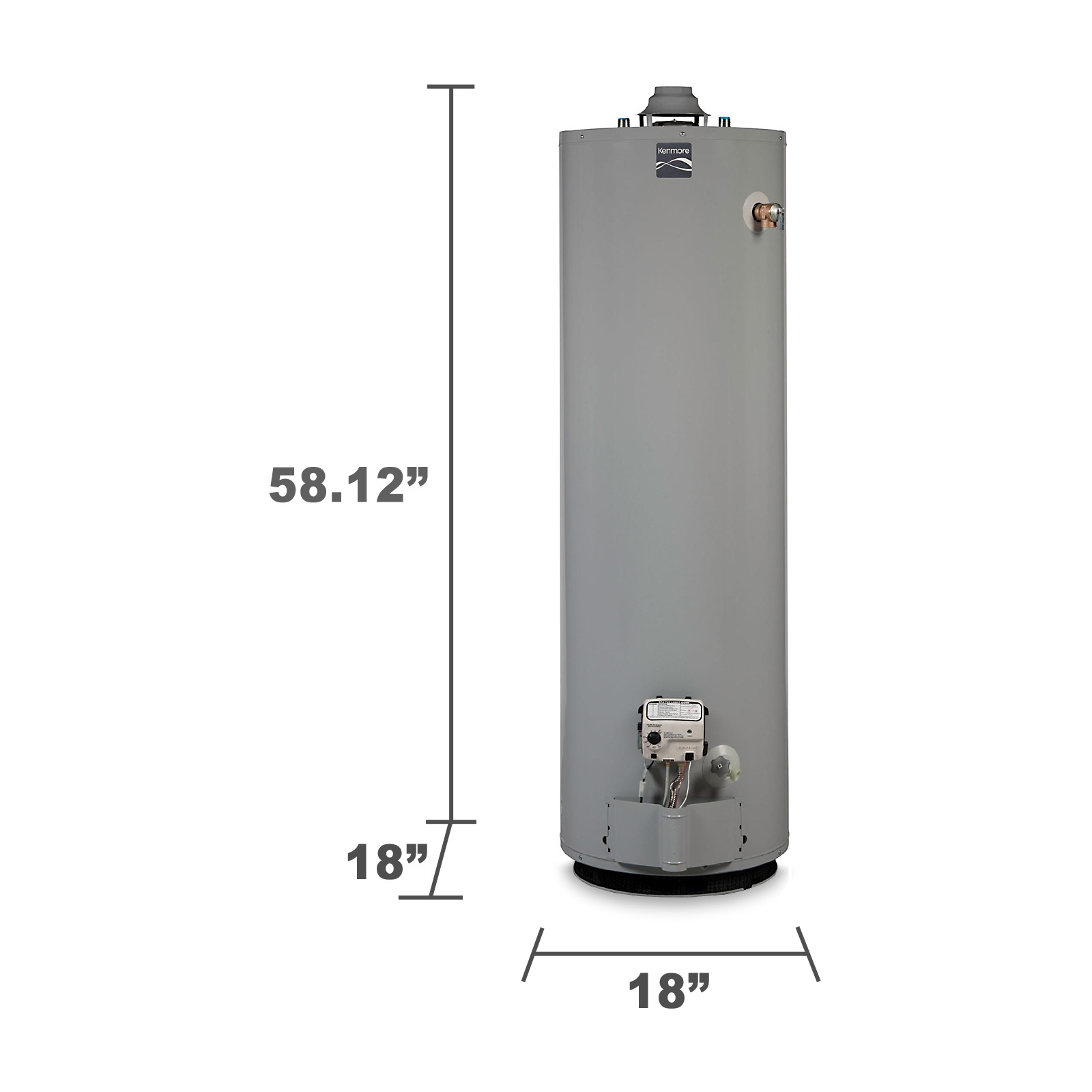 Kenmore 40 gal. Liquid Propane Water Heater - Limited Availability