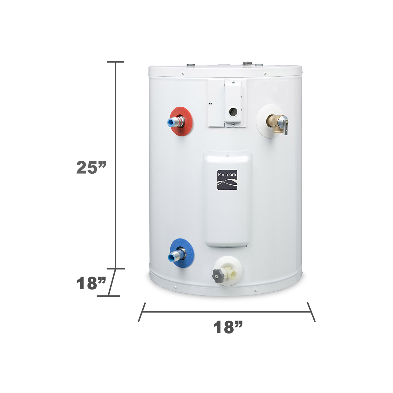Kenmore 20 gal. 6-Year Compact Electric Water Heater
