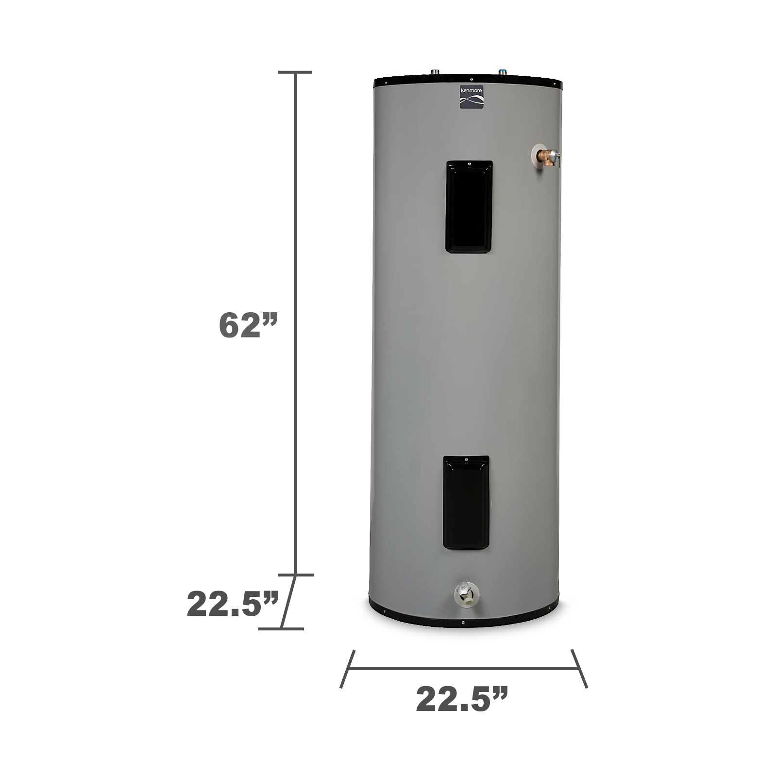 Kenmore 55 gal. Tall 12-Year Electric Water Heater - Limited Availability