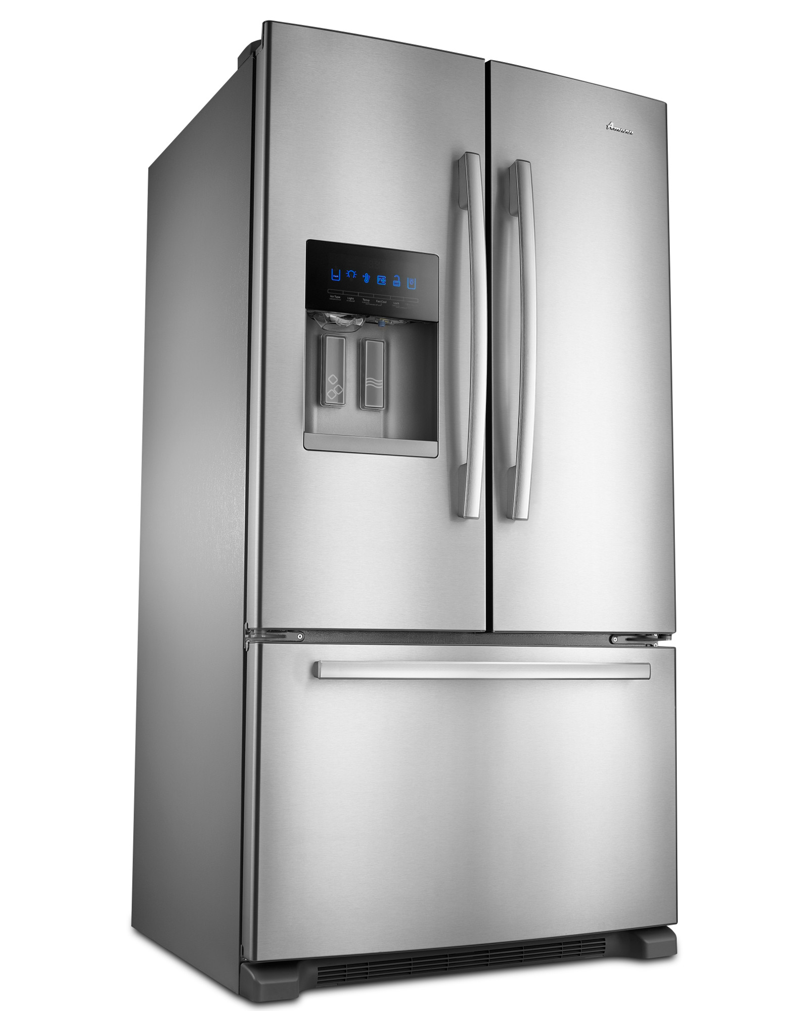 Amana AFI2539ERM 24.7 cu. ft. French Door Bottom-Freezer Refrigerator w/ Fast Cool Option - Stainless Steel