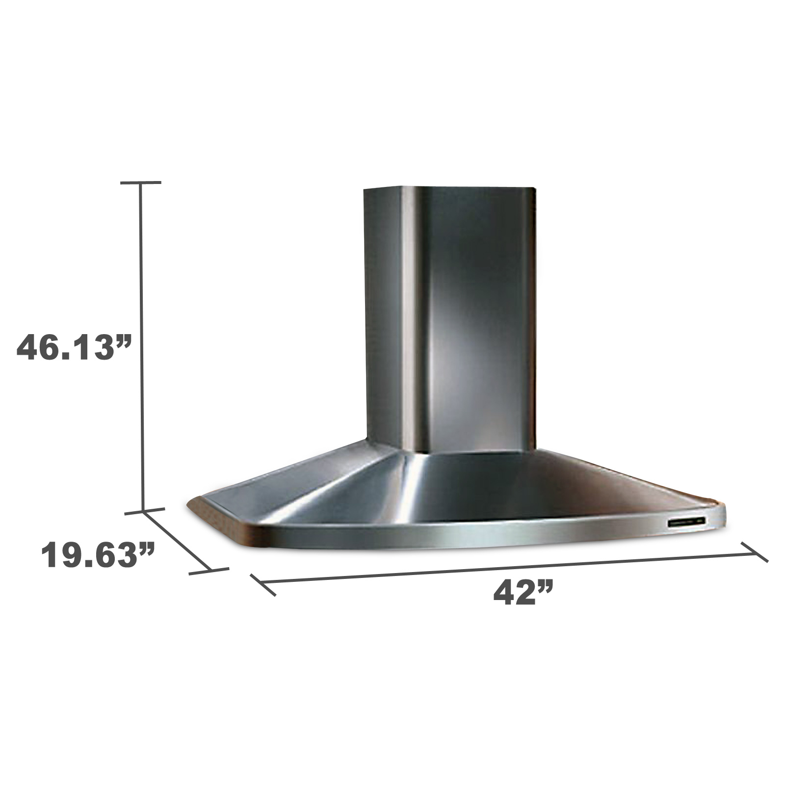 "Kenmore Elite 52423 42"" Italian-Design Wall-Mounted Range Hood"