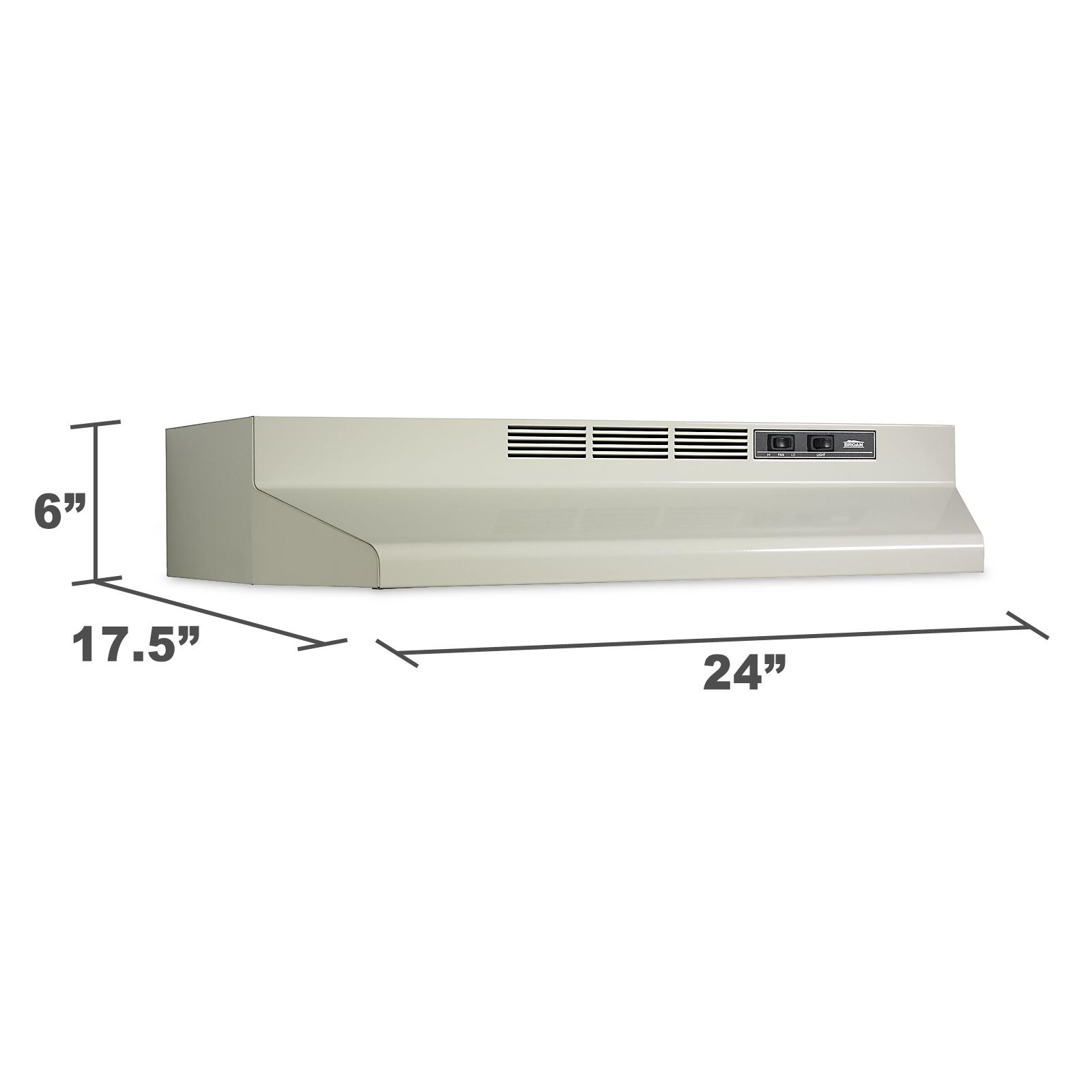 "Kenmore 24"" Convertible Range Hood  - White 50944"