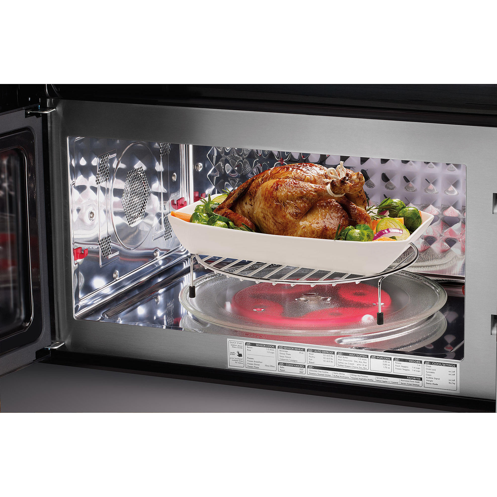 Rack For Microwave Convection Oven: Kenmore Elite 80373 1.8 Cu. Ft. Over-the-Range Convection