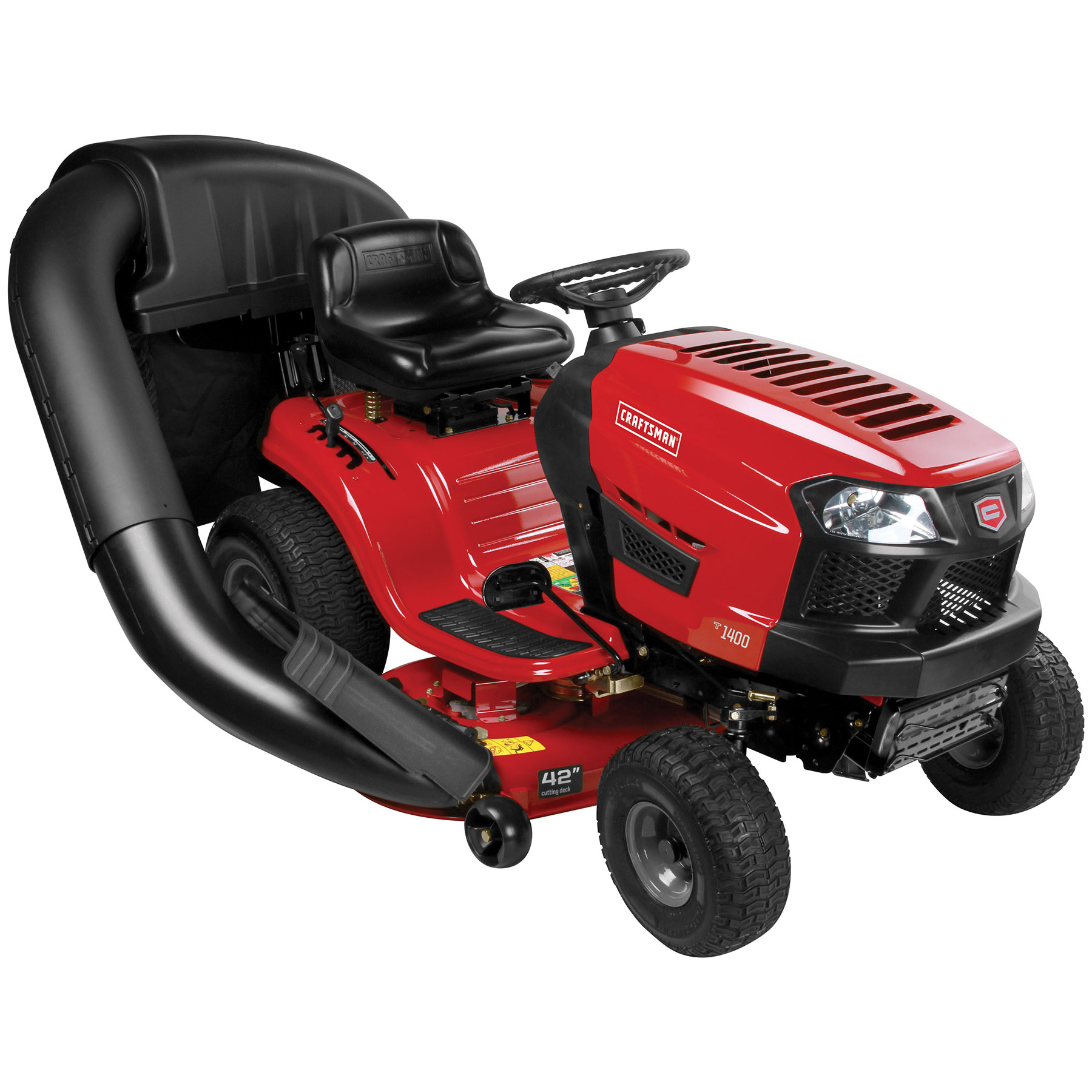 "Craftsman 42"" Auto 17.5 HP Briggs & Stratton Riding Mower"