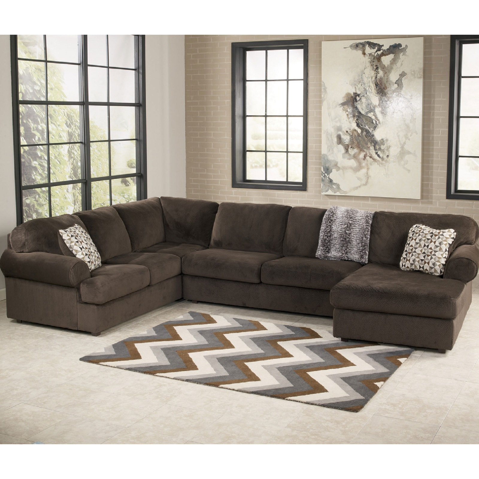 Signature Design by Ashley Jessa Place 3-Piece Sectional