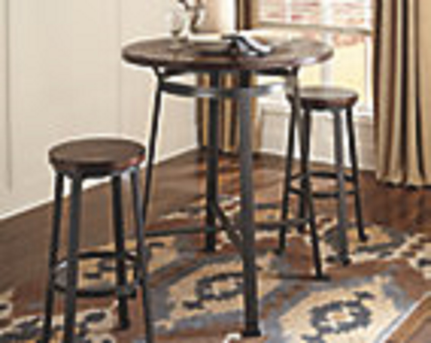 Signature Design by Ashley Challiman Pub Table and Stools