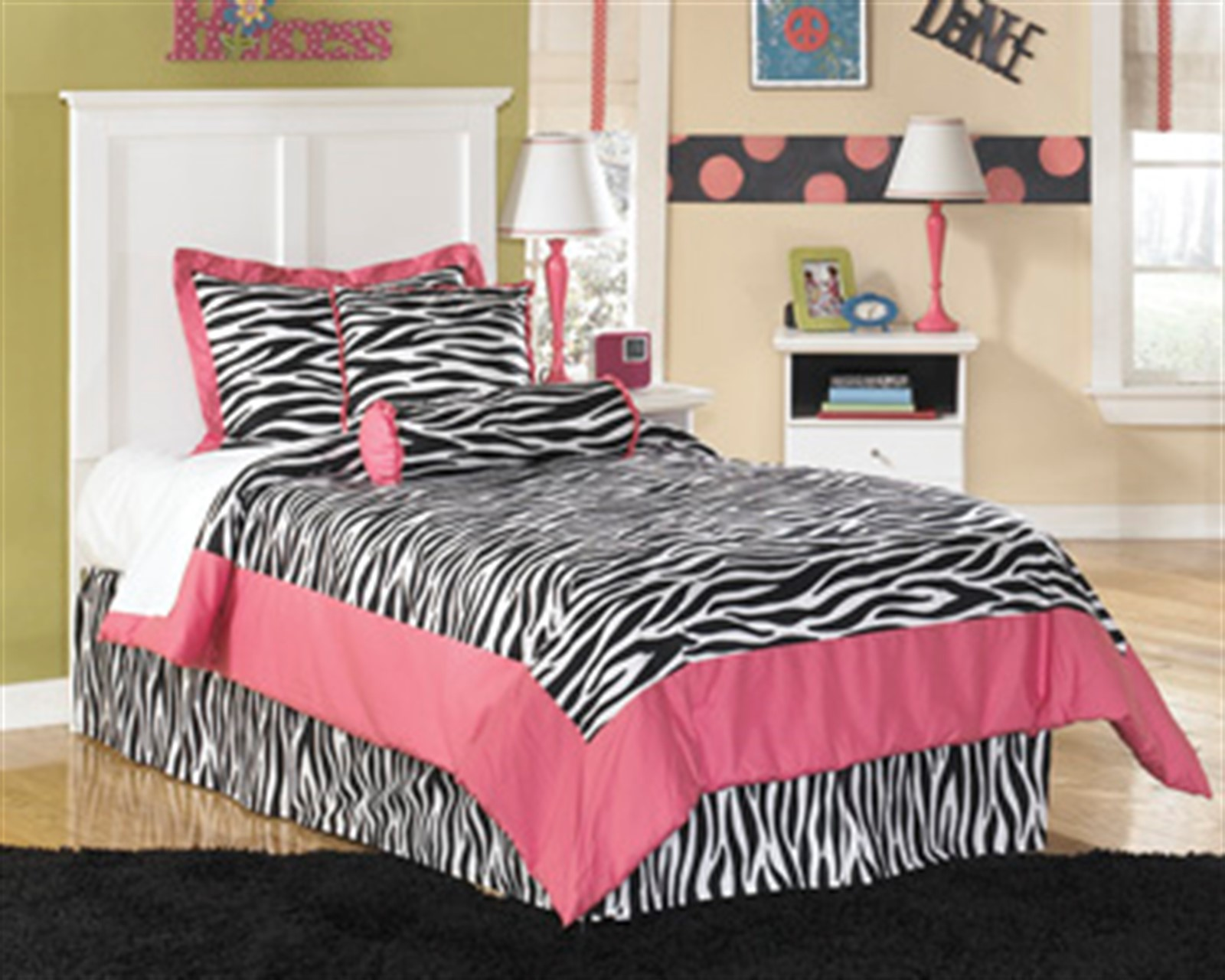 Bostwick Shoals White Twin Bed