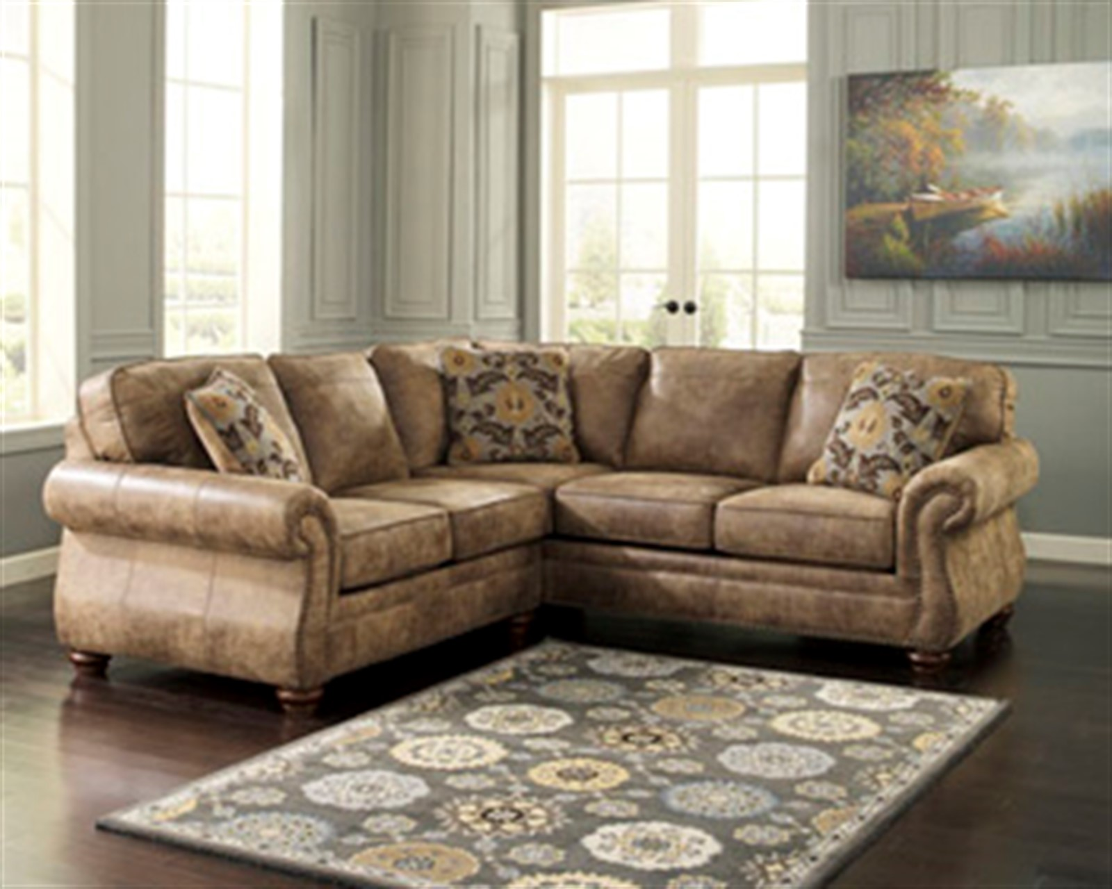 Signature Design by Ashley Larkinhurst Earth Sectional