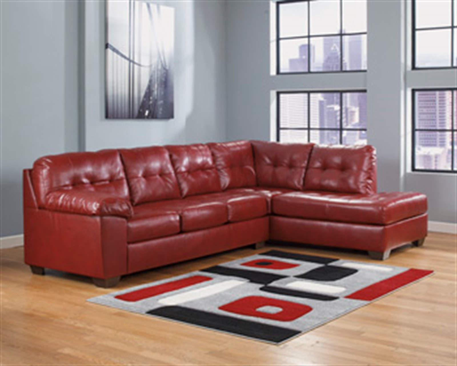 Signature Design by Ashley Alliston DuraBlend® Salsa Sectional