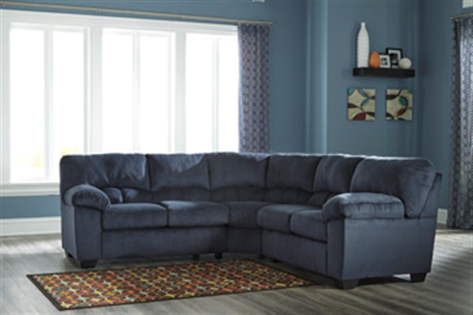 Signature Design by Ashley Dailey Midnight Sectional