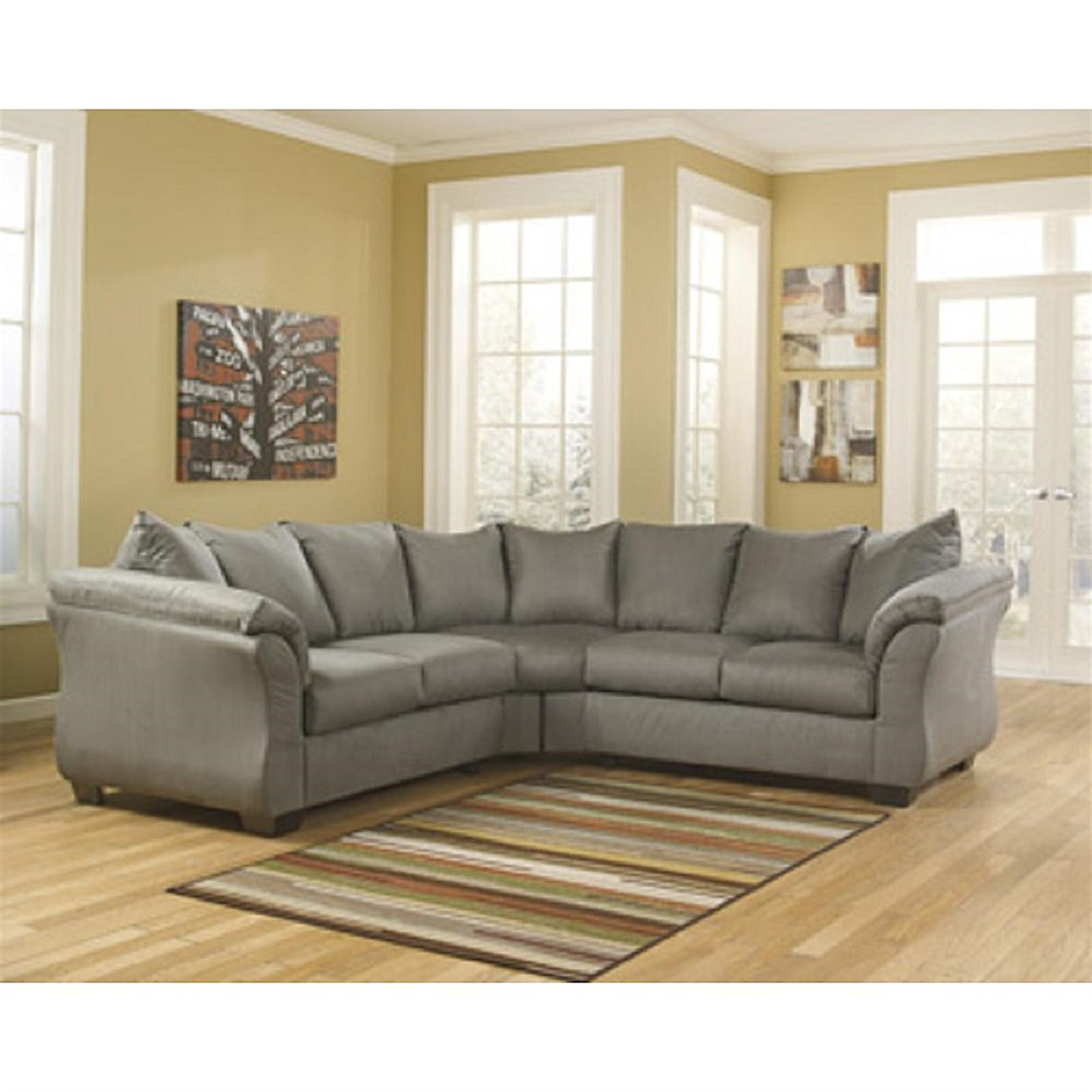 Signature Design by Ashley Darcy Cobblestone Sectional