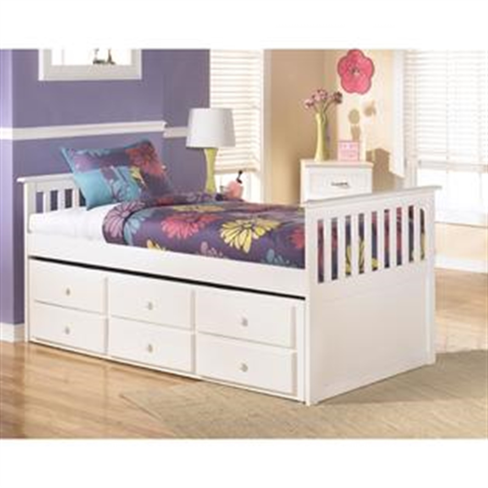 Lulu Bed with Trundle - Twin